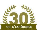 30 ans d'éxpérience !